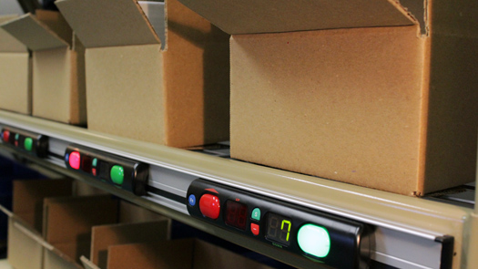 Lightning Pick pick-to-light for order fulfillment