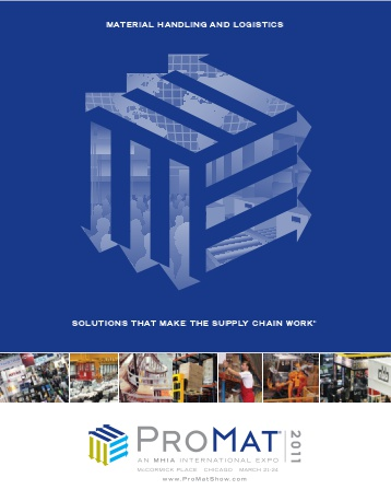 Lightning Pick Exhibiting in Two Booths (4219 and 4250) at ProMat 2011.