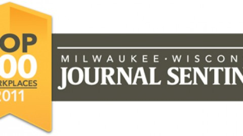 Lightning Pick selected as one of the 100 Top Workplaces in Southeastern Wisconsin by the Milwaukee Journal Sentinel.