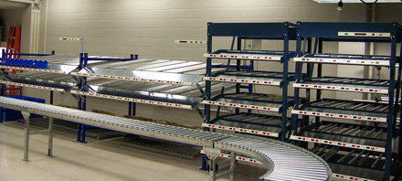 Rochester Institute of Technology installs two Lightning Pick Products for their Toyota Production Systems Laboratory.