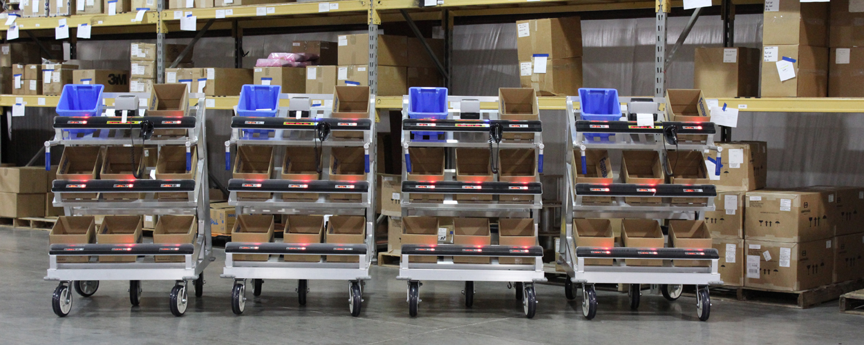 Automated Batch Picking Carts