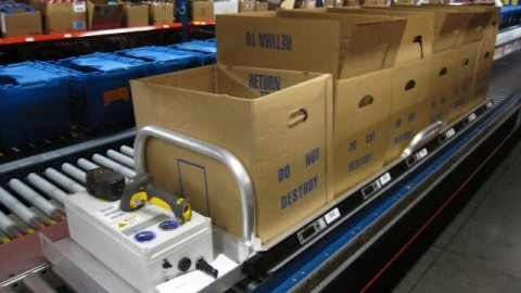 New Picking Light Sled for Optimized Cluster Picking Efficiency, Accuracy Highlighted at ProMat 2015.