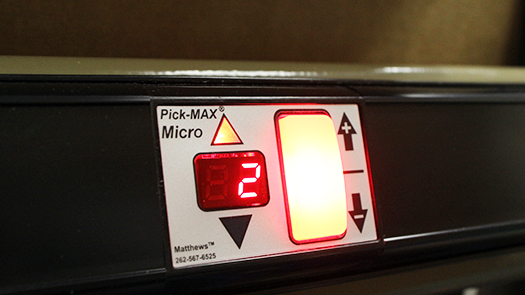 Pick-MAX Micro pick-to-light module