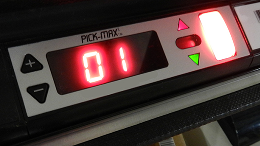 Pick-MAX2 pick to light system hardware