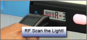 Pick-to-light you can RF scan.