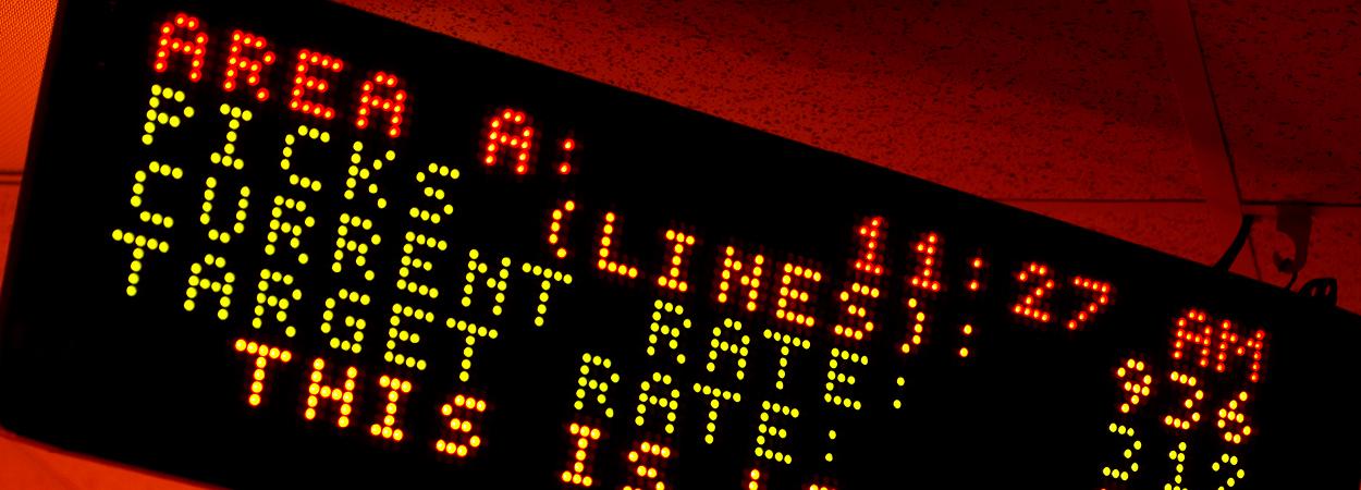 Lightning Pick LP News LCD Display