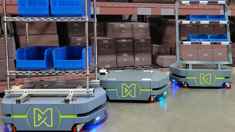 Matthews' Unveils Newest Generation of Autonomous Mobile Robots, Engineered to Maximize Flexibility